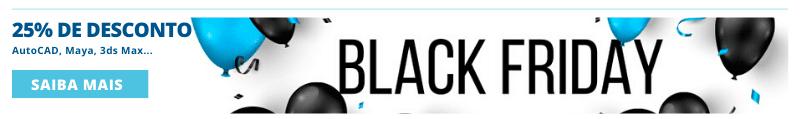 25% desconto em AutoCAD . Black friday